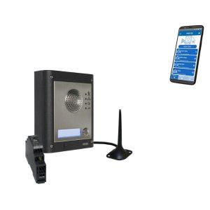 Videx GSM4K-1S 1 Way GSM Audio Gate Intercom Kit