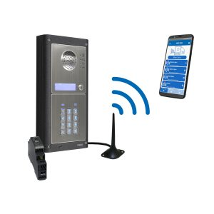 Videx GSM4KC-1S 1 Way GSM Audio Gate Intercom Kit with Keypad