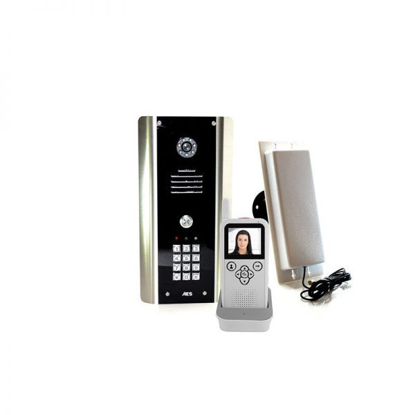 AES 705-ABK DECT Video Wireless Gate Intercom with Keypad (was 605-ABK)