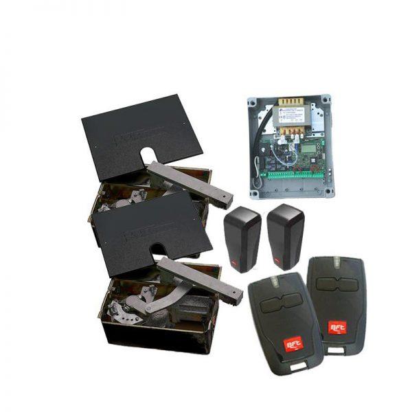 BFT Eli 250 230V Double Underground Electric Gate Kit