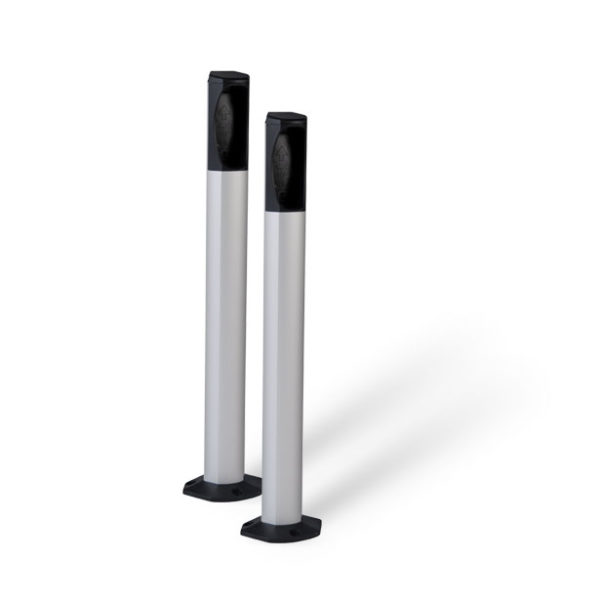 Pair of LiftMaster 77c1 Aluminium Posts for 772e