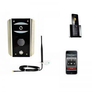 AES Cell Com Prime GSM-5AB/3GE Gate Intercom