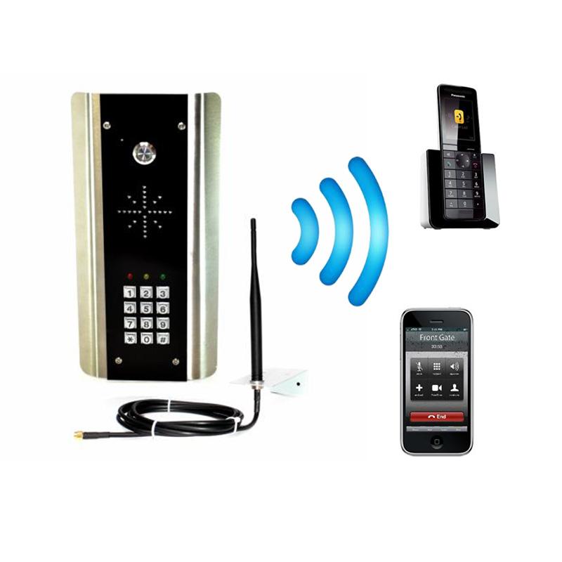 AES Cell Com Prime GSM-5ABK/3GE Gate Intercom with Keypad