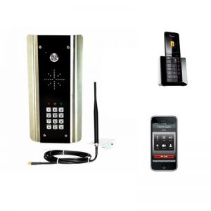 AES Cell Com Prime GSM-5ABK/3GE Gate Intercom with Keypad