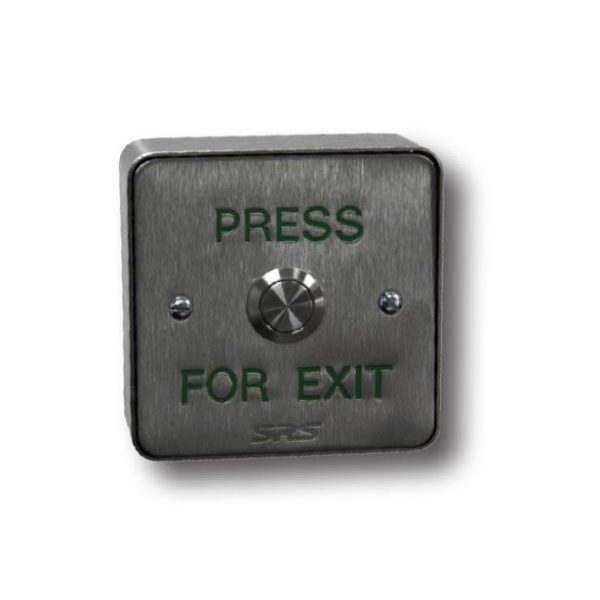 Stainless Steel Push-Button (Surface-Mount)