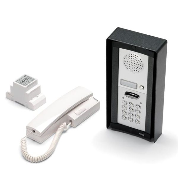 Videx DK8K-1S Audio Intercom with Keypad