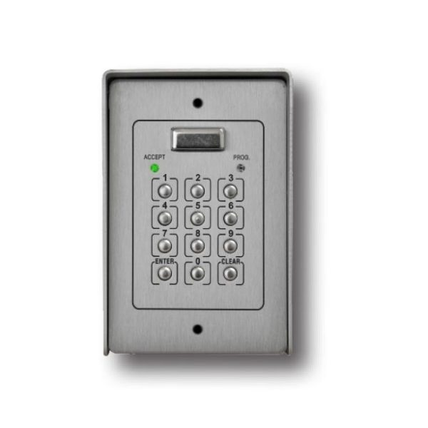 Videx VX800NS Hard Wired Surface Mounted Keypad