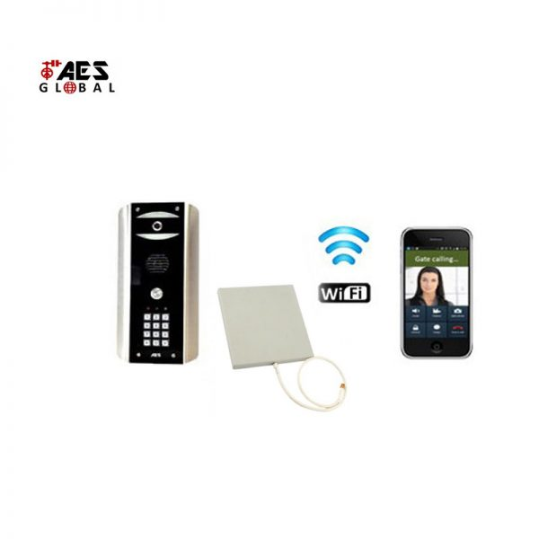 AES WIFI-ABK Predator 2 Video Gate intercom kit with keypad