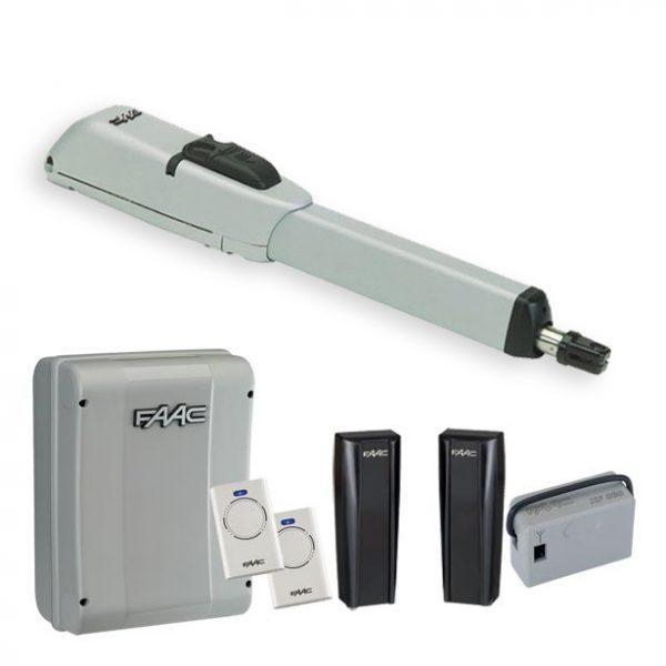 FAAC 415LLS 24V Single Arm Electric Gate Kit