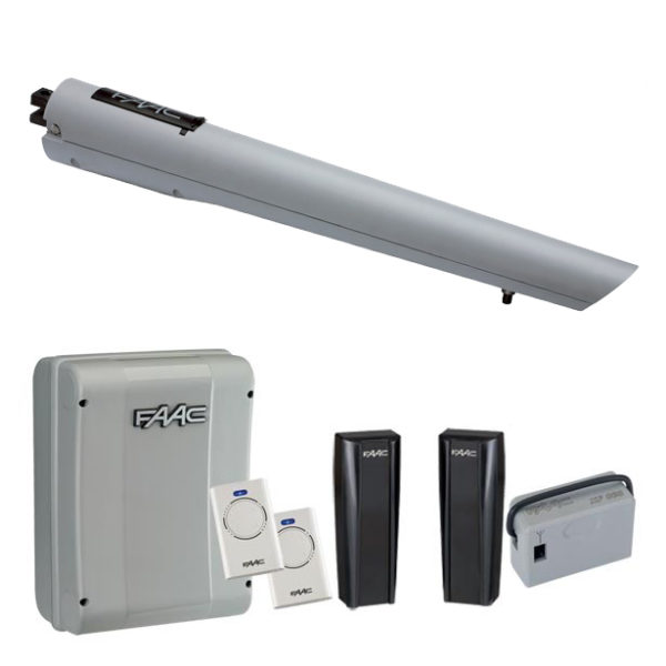 FAAC S418 Single Arm Electric Gate Kit