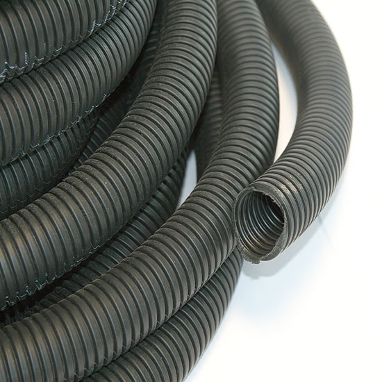 34mm Diameter Flexible Plastic Conduit (Per Metre)