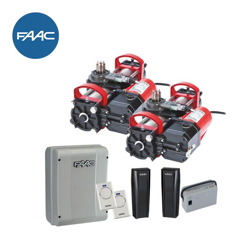 Faac S800 24v Hydraulic Double Underground Automatic Gate Kit