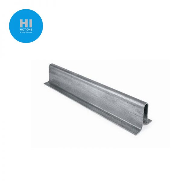 3m Length - Pre-formed Zinc Plated Tracking