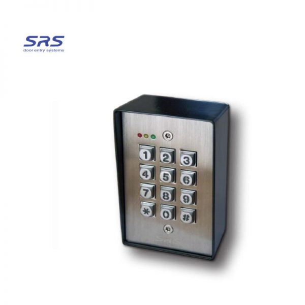 SRS DC-60-SS Hard Wired Surface Mounted Gate Keypad