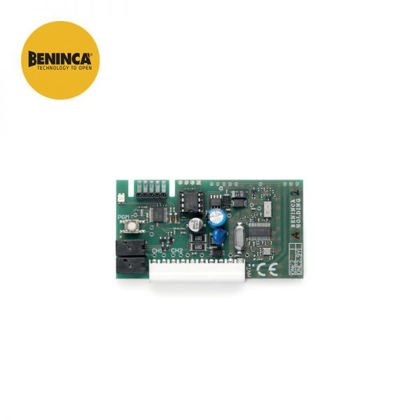 Beninca ONE.2WI 2 Channel 433.92 MHz Universal Plug In Receiver