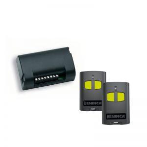 Beninca ONE.2BKIT (1 x ONE.2WB receiver & 2 x TO.GO2VA remotes)