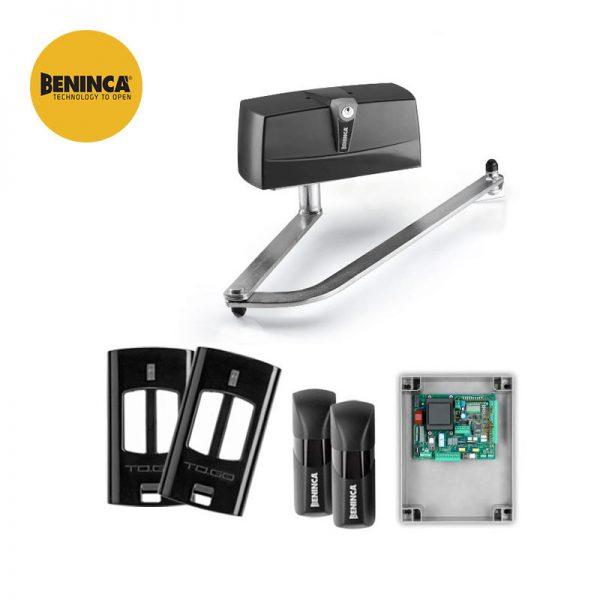 Beninca PR.45E24 24V Single Articulated Arms Gate Kit
