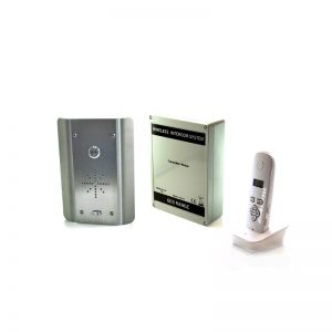 603-AS DECT Audio Wireless Gate Intercom (Stainless Steel)