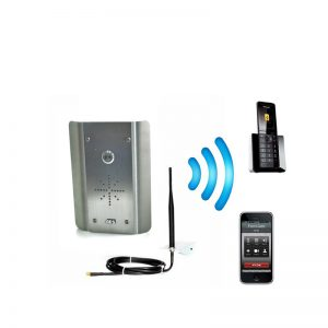 Cell Com Prime GSM-5AS/3GE Gate Intercom (Stainless Steel)