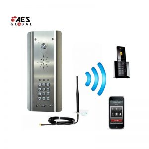 Cell Com Prime GSM-5ASK/3GE Gate Intercom with Keypad (Stainless Steel)
