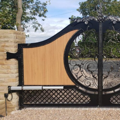 Above Ground Swing Gate Kits