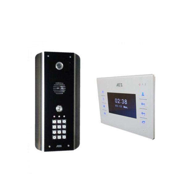 AES Styluscom-ABK Long Range Intercom with Keypad